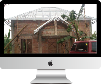 pemasangan atap baja ringan